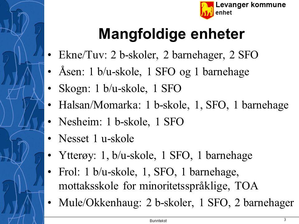Levanger kommune enhet Bunntekst 14 Plan for digital kompetanse – utvikling fram mot 2008 Øke maskintettheten.