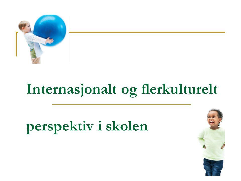 Internasjonalt og flerkulturelt perspektiv i skolen