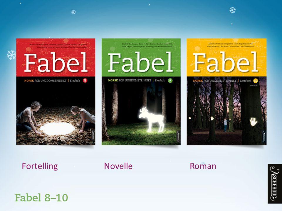 Fabel norsk bok 8