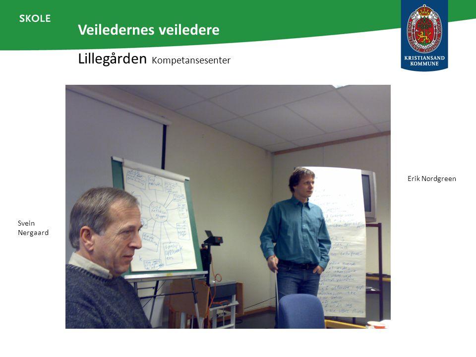 Veiledernes veiledere Lillegården Kompetansesenter Svein Nergaard Erik Nordgreen