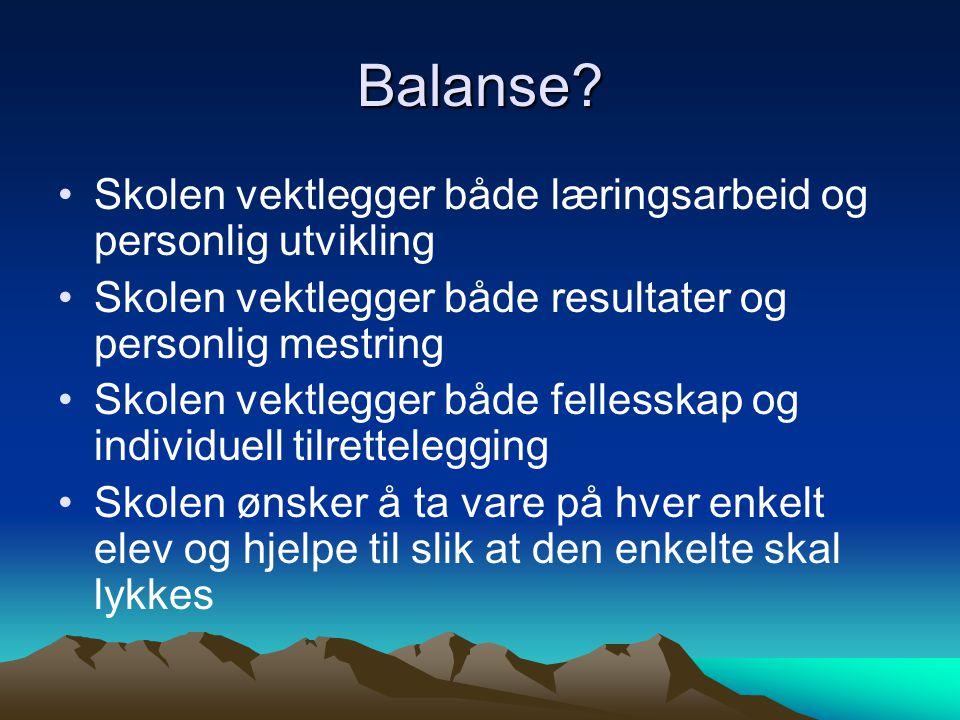Balanse.