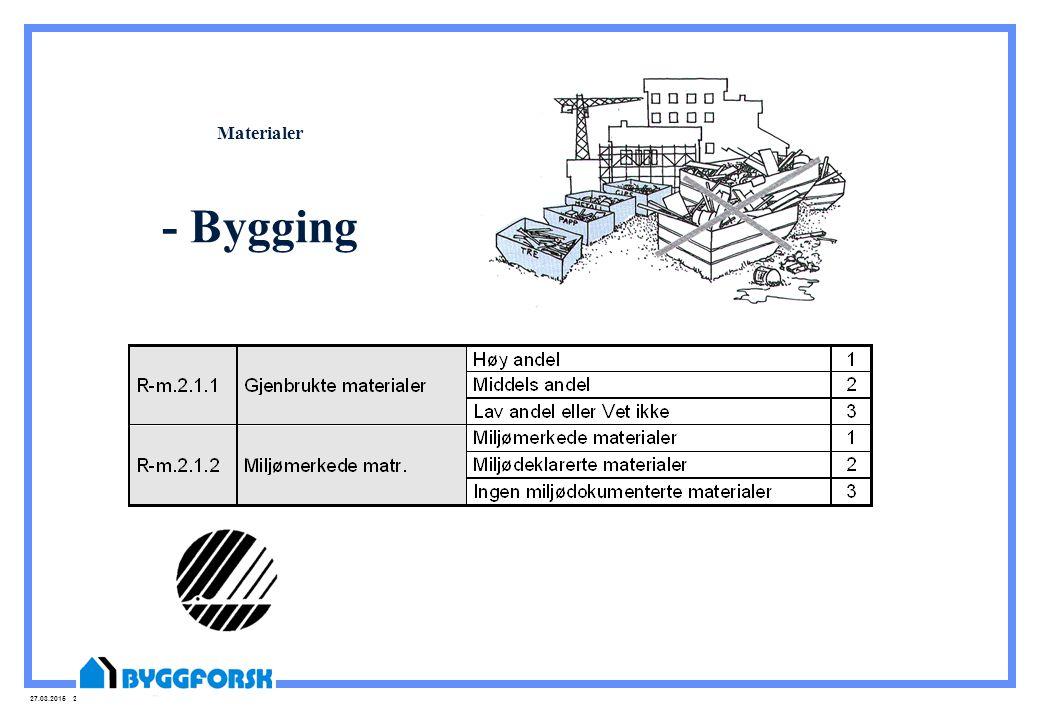 27.03.2015 22 Materialer - Bygging