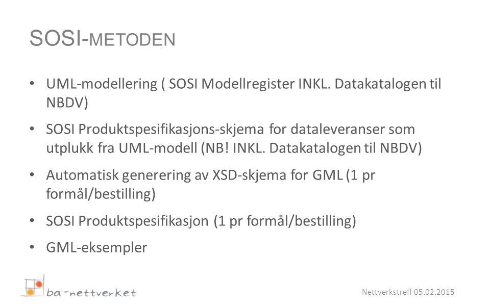 UML-modellering ( SOSI Modellregister INKL.