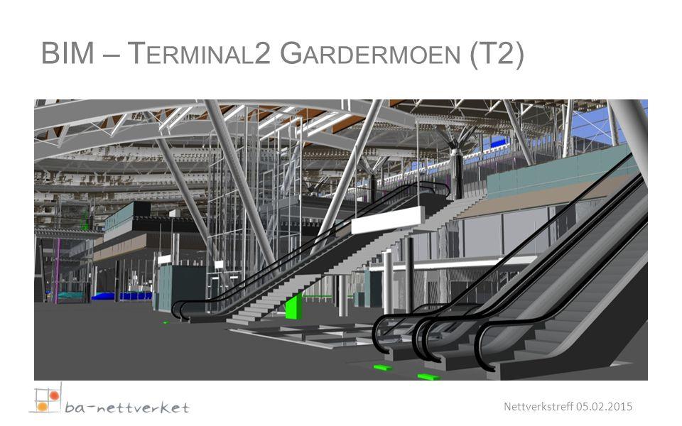 Nettverkstreff 05.02.2015 BIM – T ERMINAL 2 G ARDERMOEN (T2)
