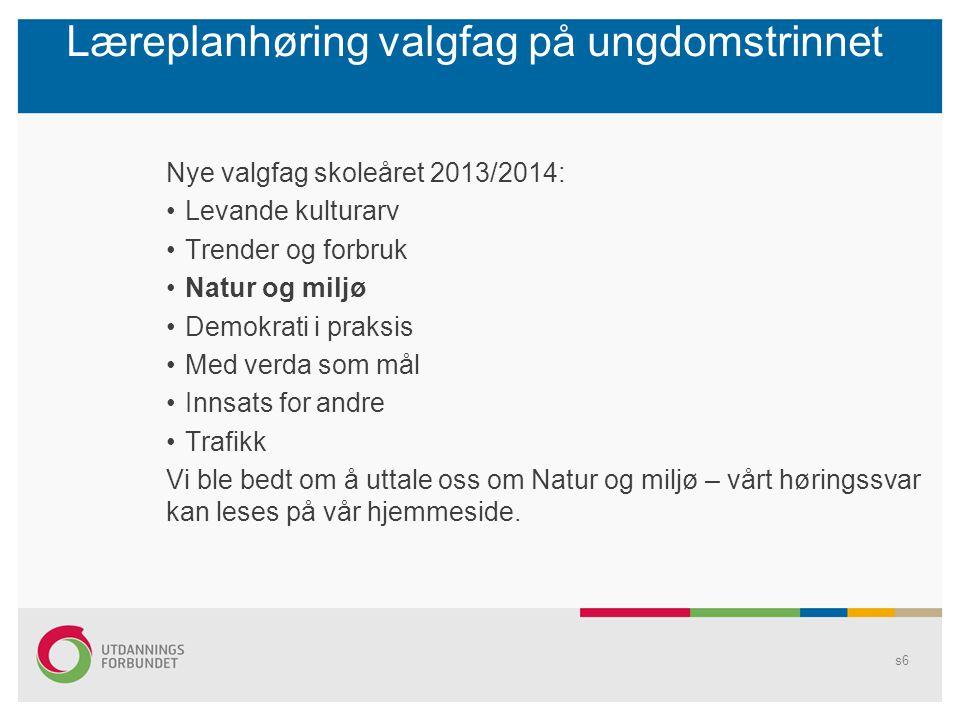 Stortingsvalget 2013 Utdanningsforbundet i Hedmark satser i år på en paneldebatt på storkurset.