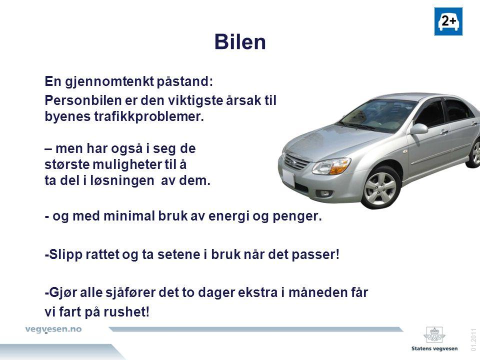 Bilen En gjennomtenkt påstand: Personbilen er den viktigste årsak til byenes trafikkproblemer.