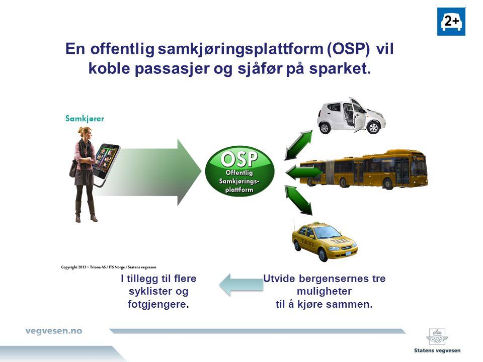 Ta knekken på rushet 2 Erfaringer viser at 10% færre biler i Bergensrushet vil kunne gi bra flyt i trafikken (Som i vinterferiene).