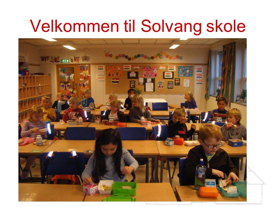 Velkommen til Solvang skole