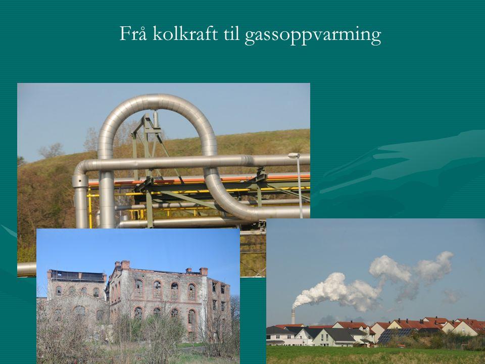 Frå kolkraft til gassoppvarming