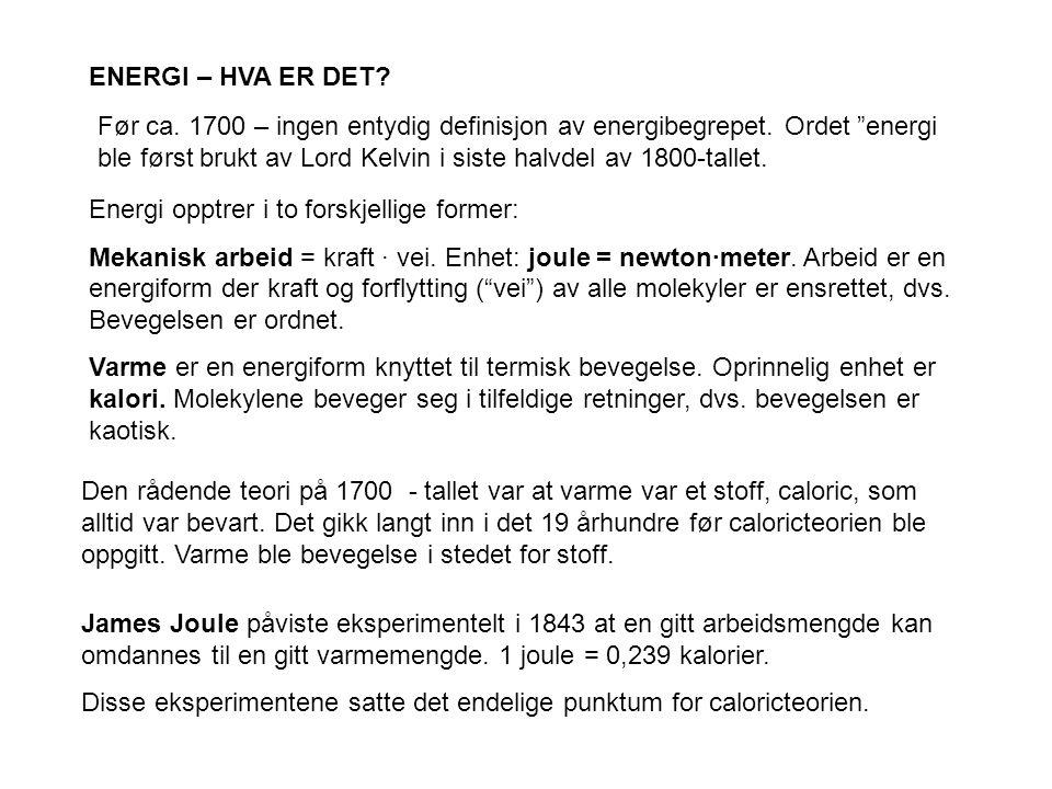 Exergiregnskap for Norge (I.S. Ertesvåg, NTNU)