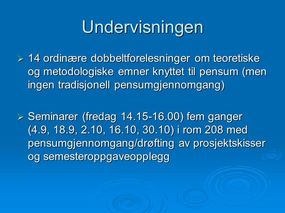 Referansesystemet  Havardsystemet: Oppgi Forfatterens navn, bokas utgivelsesår og evt.
