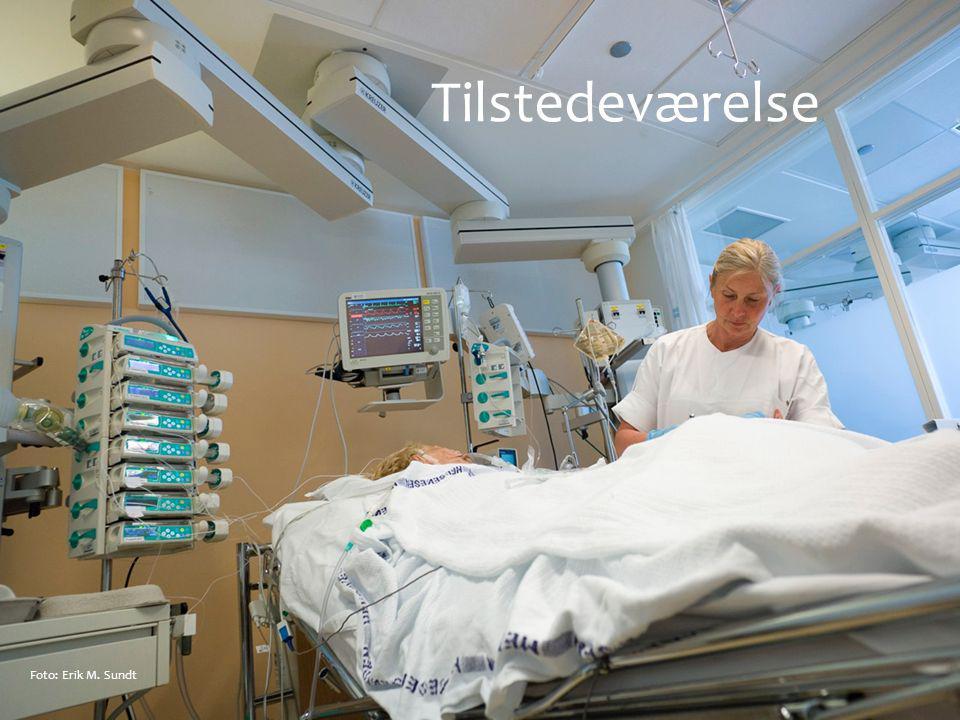Tilstedeværelse Foto: Erik M. Sundt