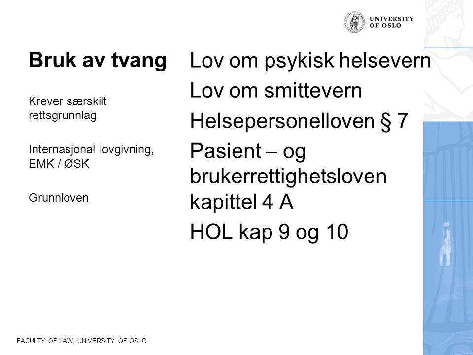 FACULTY OF LAW, UNIVERSITY OF OSLO Dommer fra EMD EMD Winterwerp mot Nederland, 24.