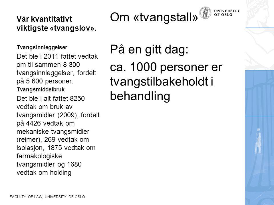 FACULTY OF LAW, UNIVERSITY OF OSLO Norske Høyesterettsdommer Rt.