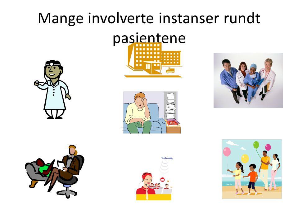 Mange involverte instanser rundt pasientene