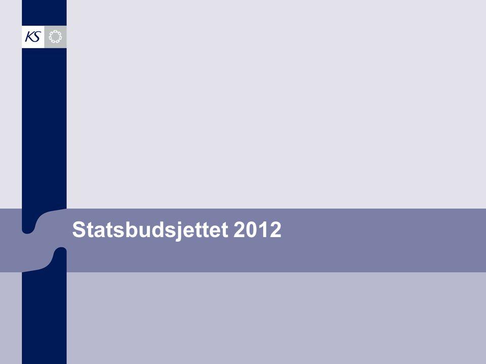 1 Statsbudsjettet 2012
