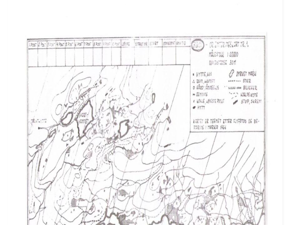 B&OI orientering sitt første o-kart