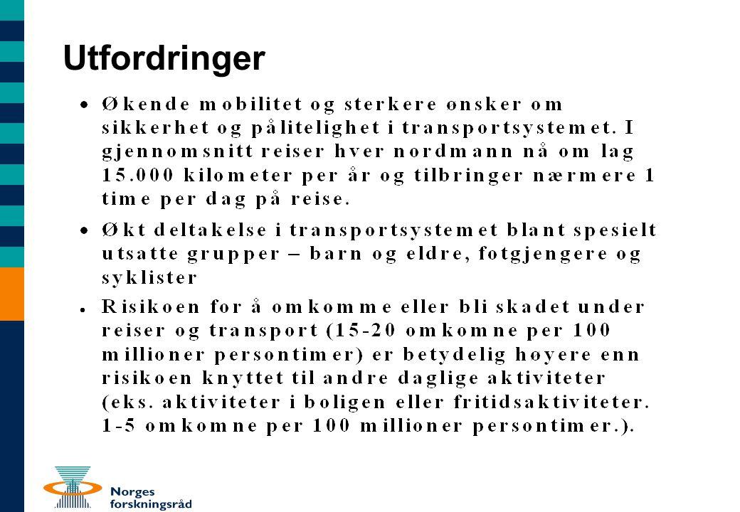 RISIT 2005 5 nye prosjekter 13 mill NOK Sikkerhet, security og effektivitet: Personvernets grenser.
