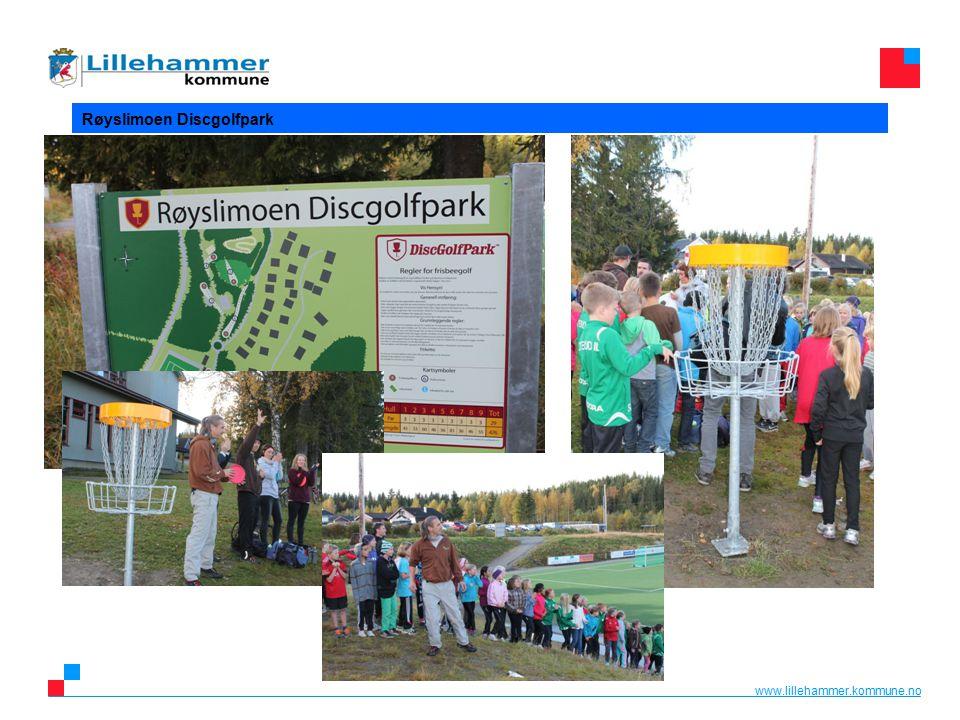 www.lillehammer.kommune.no Røyslimoen Discgolfpark