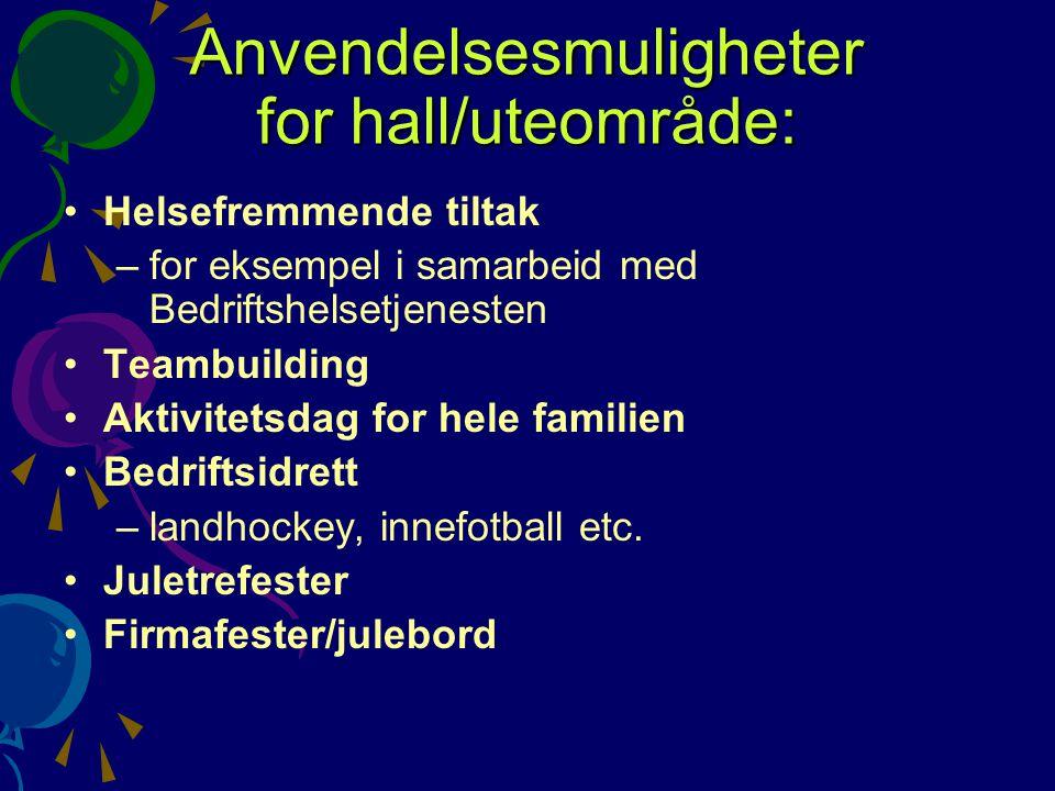 STF disponerer sin egen hall.STF eier sin egen hall (1200 m2) som ligger sentralt i Stavanger.