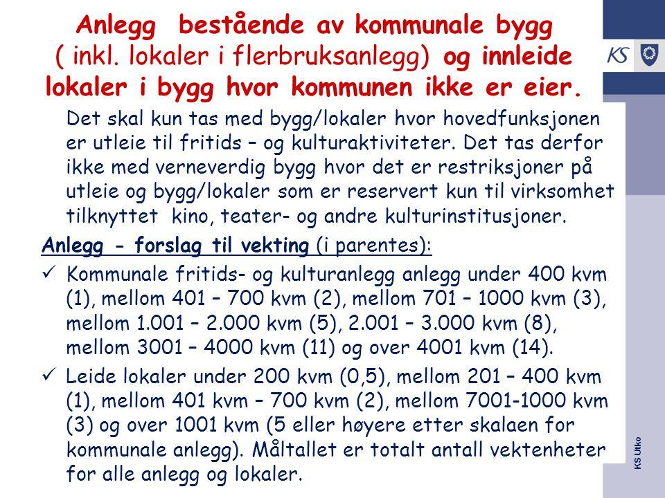 KS Utko Anlegg bestående av kommunale bygg ( inkl.