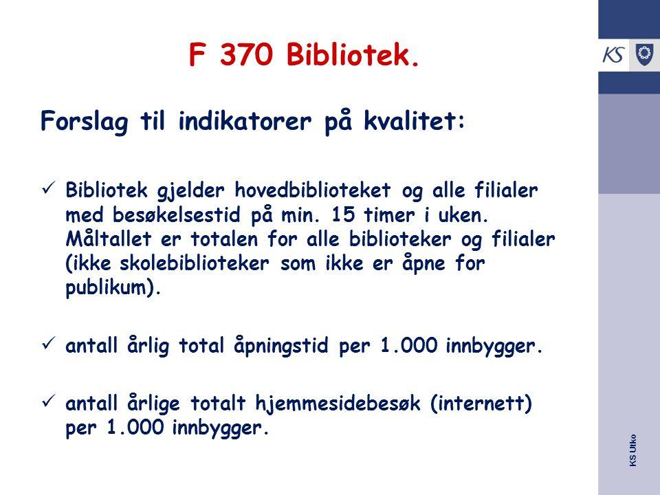 KS Utko F 370 Bibliotek.