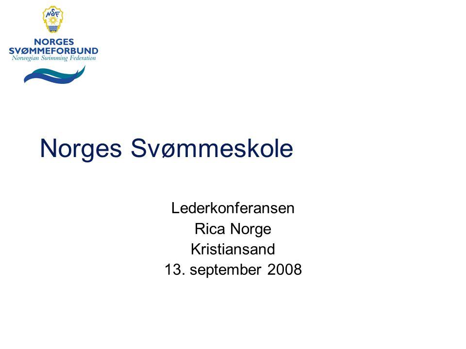 Norges Svømmeskole Lederkonferansen Rica Norge Kristiansand 13. september 2008