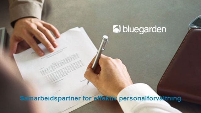 Samarbeidspartner for effektiv personalforvaltning