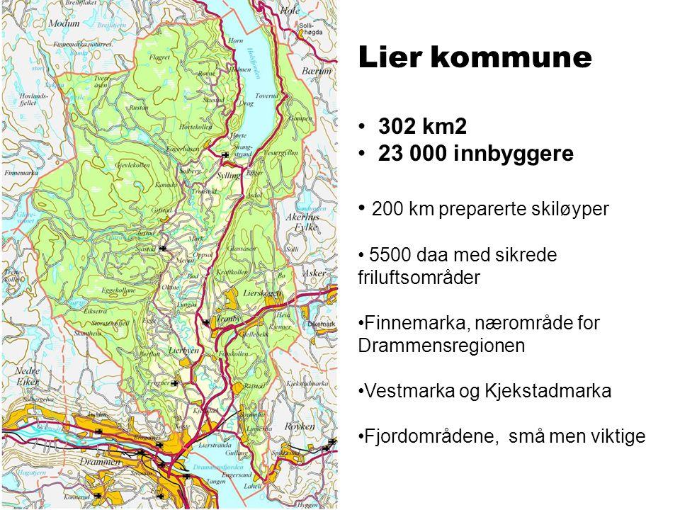Intensjoner Lier kommunes visjon er Grønne Lier