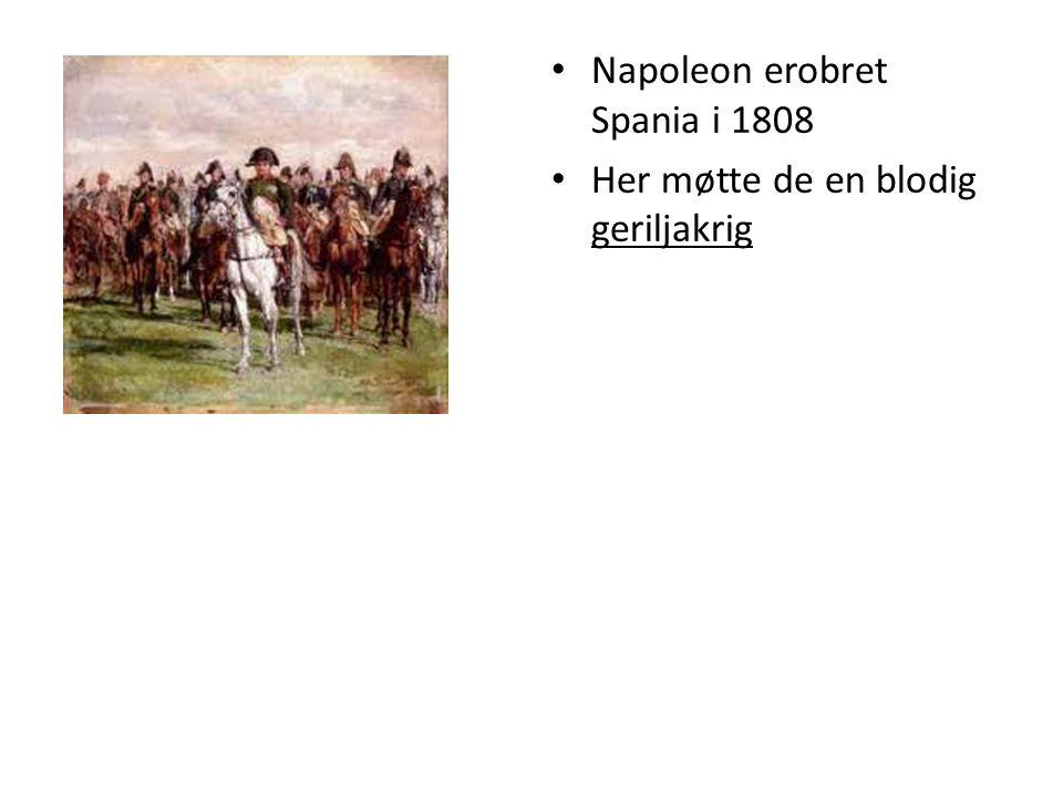 Krigen i Russland Juni 1812 fransk hær på 600 000 mann gikk inn i Russland Russerne trakk seg tilbake I september nådde Napoleon Moskva Byen var tom Så begynte den å brenne