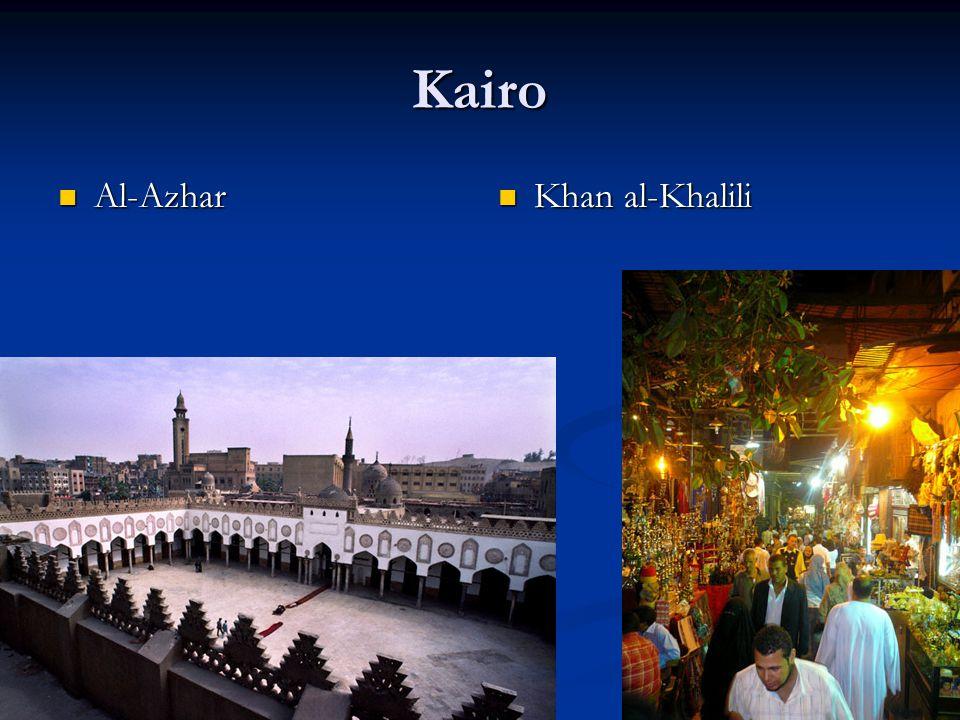 Kairo Al-Azhar Al-Azhar Khan al-Khalili