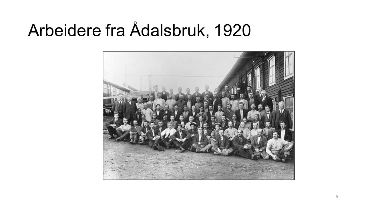 Arbeidere fra Ådalsbruk, 1920 5