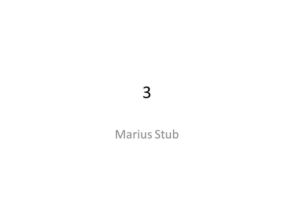 3 Marius Stub