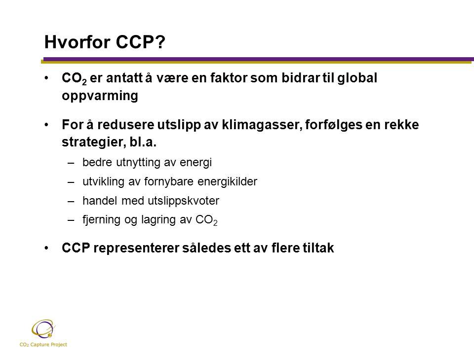 Hvorfor CCP.