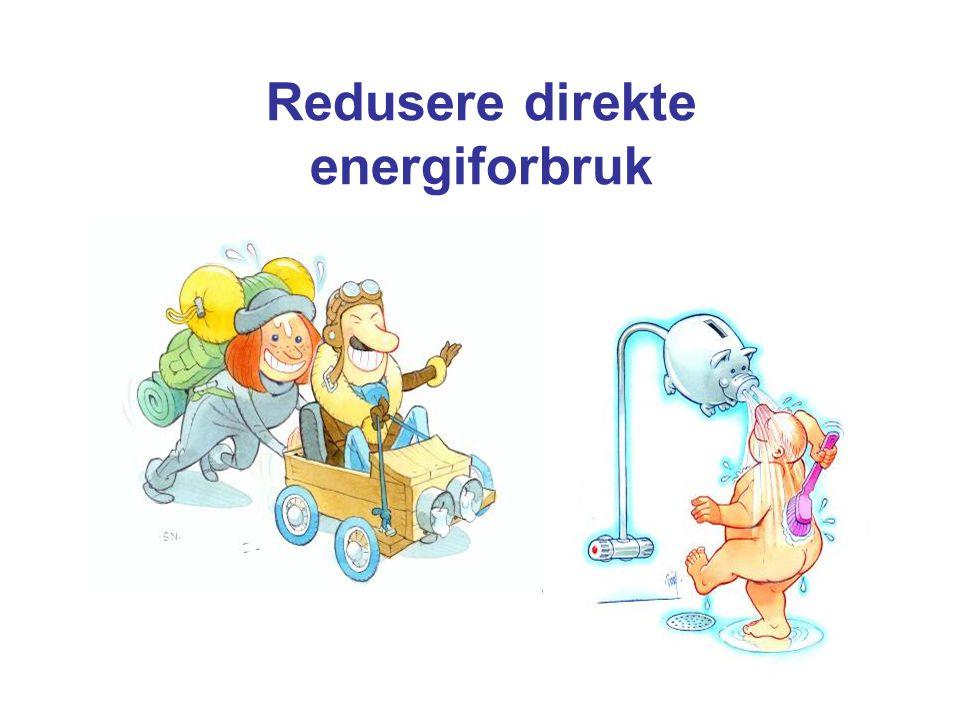 Redusere direkte energiforbruk