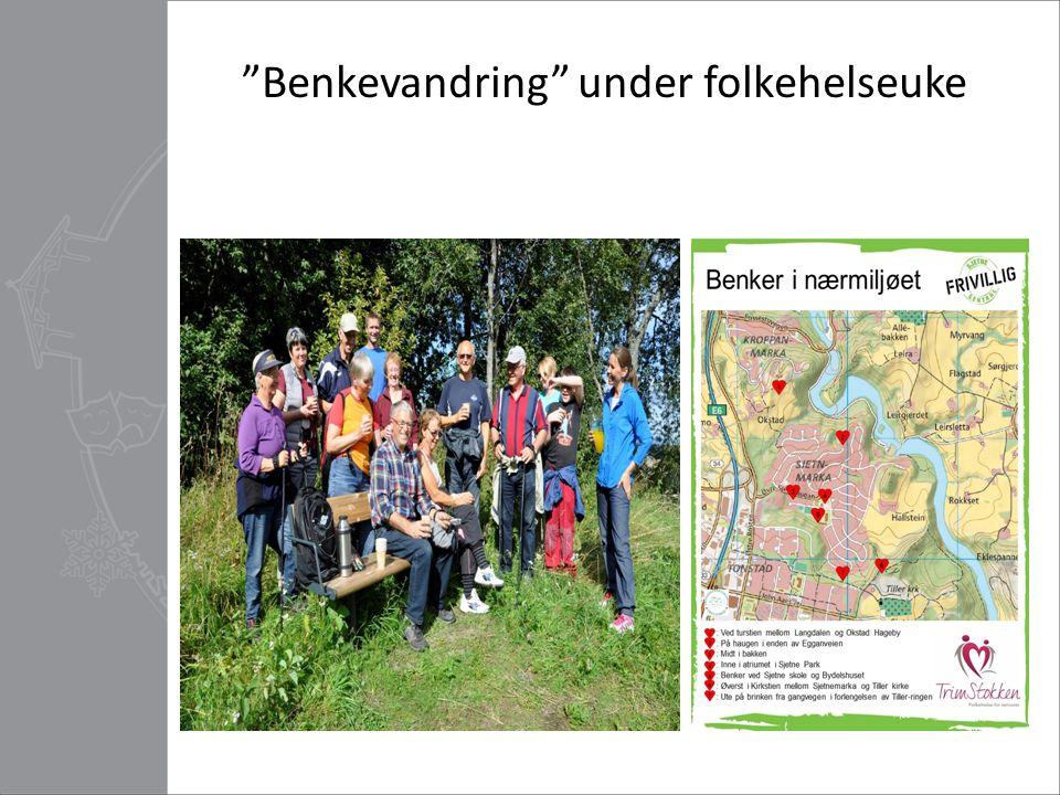 Bedre folkehelse for eldre i Ila og Løkkan – Løkkan frivilligsentral  Prosjektperiode 2013 - august 2015.
