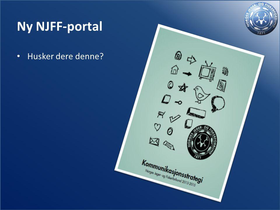 Ny NJFF-portal Husker dere denne