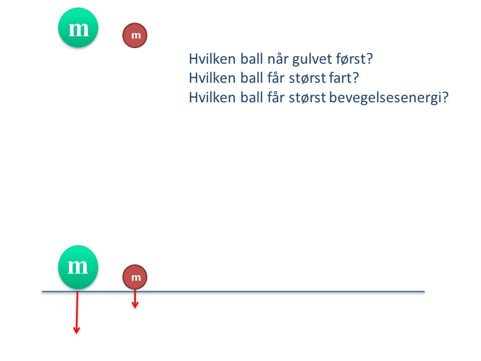  Hva er dette. Hvor finner vi her eksempel på stillings- og bevegelsesenergi.