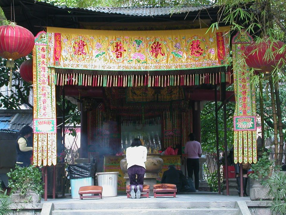 Buddhismen i moderne Kina