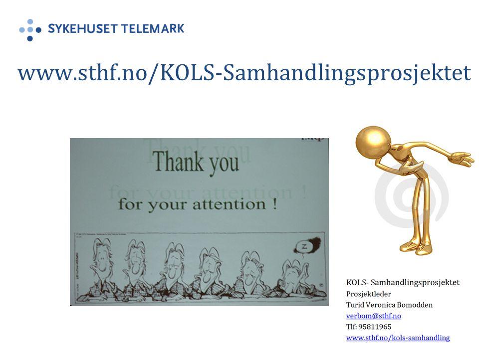 www.sthf.no/KOLS-Samhandlingsprosjektet