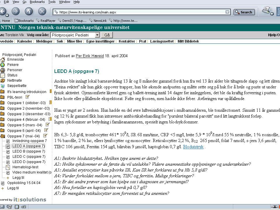20 Erfaringer i mai 2006: Faglig godt kurs: Godkjent som introduksjonskurs i PhD kursene med 5 stp (innlevert oppgave bedømmes separat for dette).