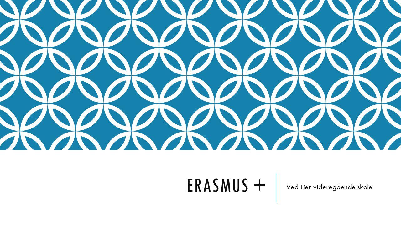 ERASMUS + Ved Lier videregående skole