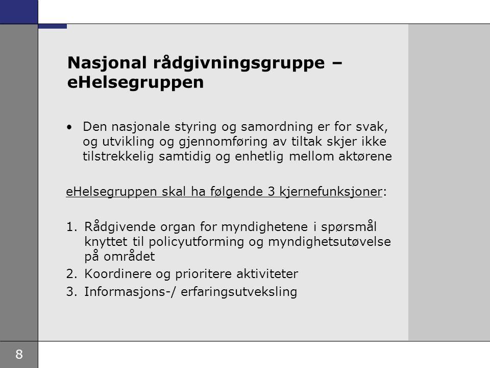 9 Norsk Helsenett - hvorfor nasjonalt eierskap.