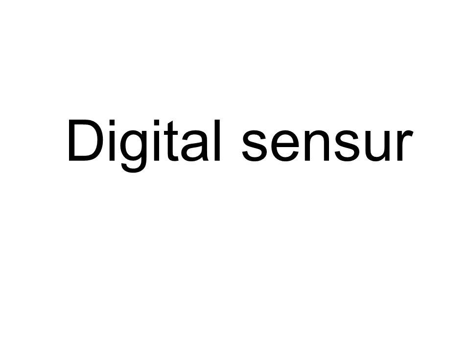 Digital sensur