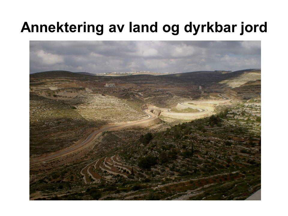 Annektering av land og dyrkbar jord