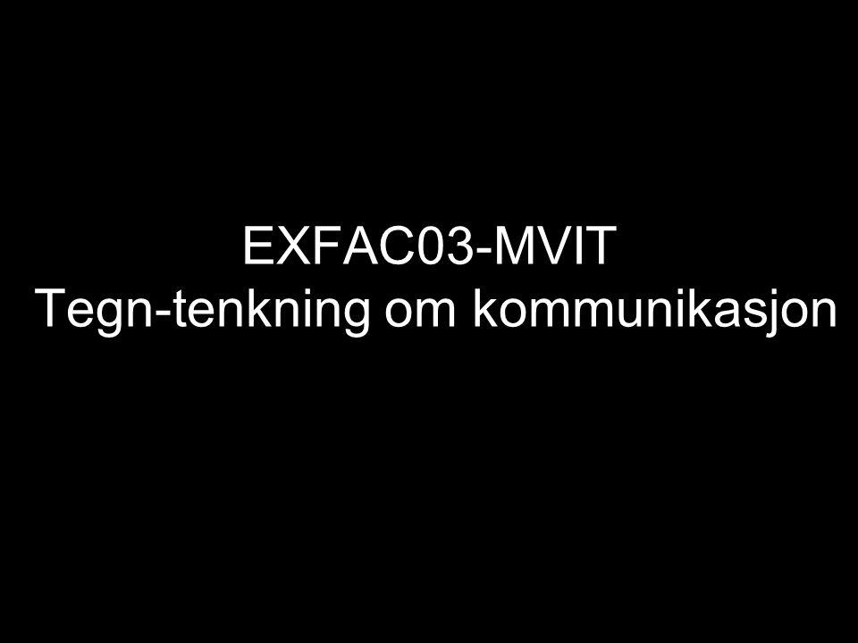 EXFAC03-MVIT Tegn-tenkning om kommunikasjon
