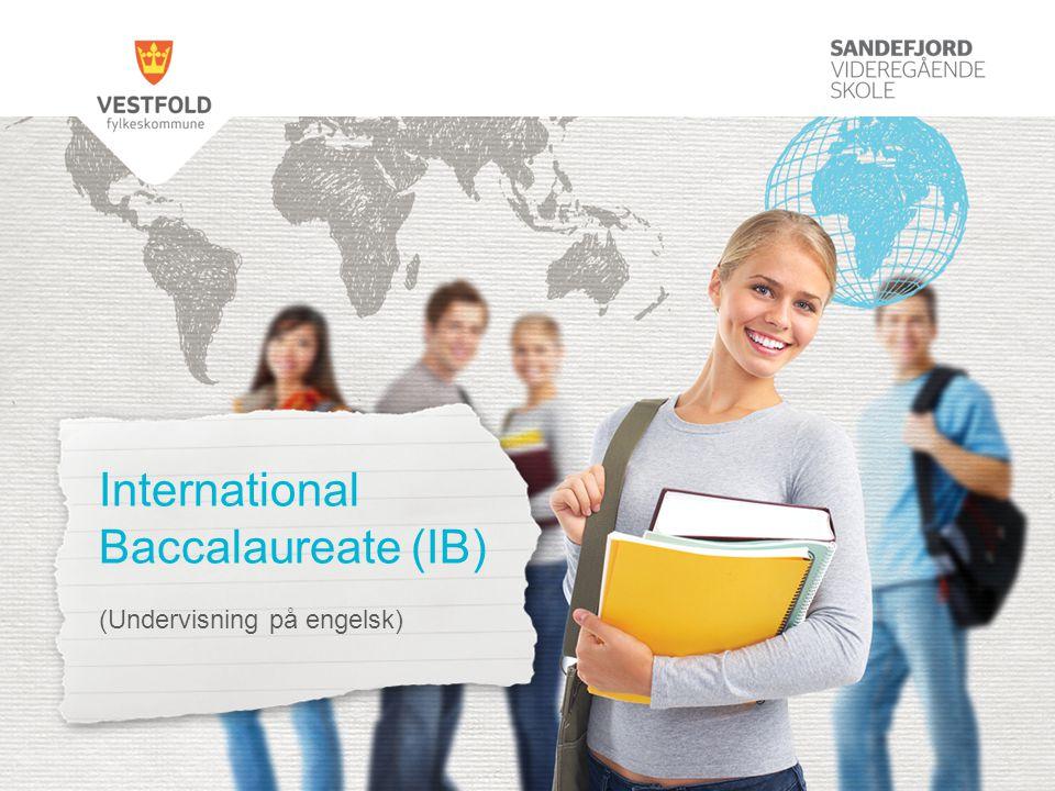 International Baccalaureate (IB) (Undervisning på engelsk)