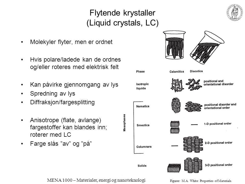 MENA 1000 – Materialer, energi og nanoteknologi Eksempel: fotoniske sommerfuglvingeskjell; kan vi lage tilsvarende strukturer?