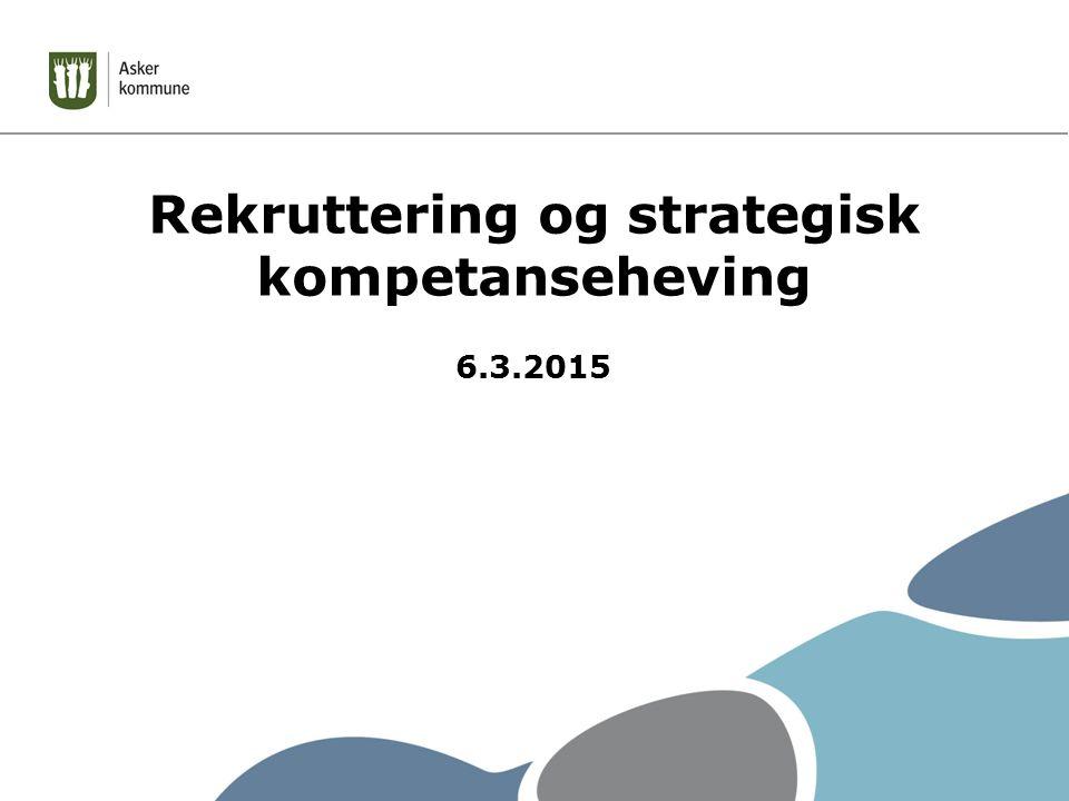 Rekruttering og strategisk kompetanseheving 6.3.2015