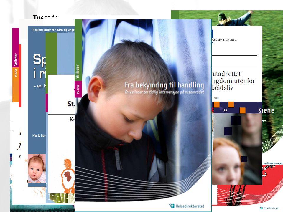 | Tverrdepartemental satsing på tidlig innsats – medfører mange styringsdokumenter og veiledere